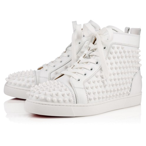 ウィメンズシューズ - Louis Woman Spikes Flat - Christian Louboutin