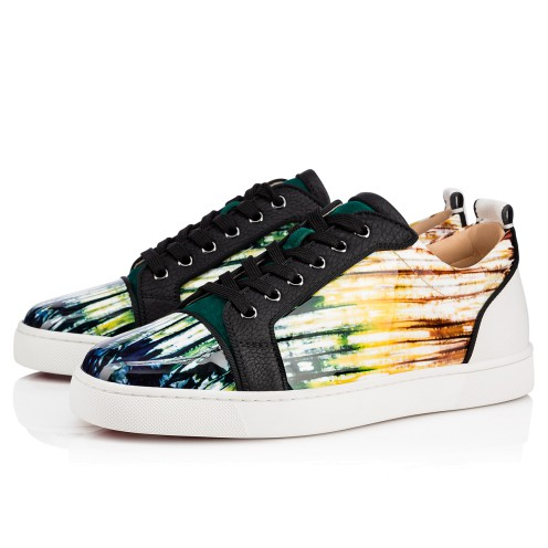 メンズシューズ - Louis Junior Orlato Men's Flat - Christian Louboutin