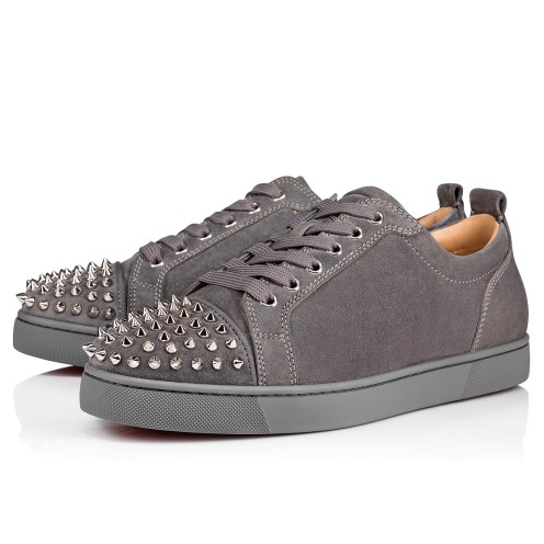 メンズシューズ - Louis Junior Spikes Men's Flat - Christian Louboutin