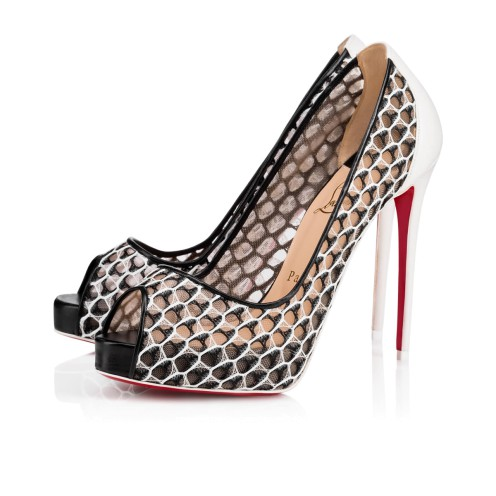 ウィメンズシューズ - Very Lace Fishnet - Christian Louboutin