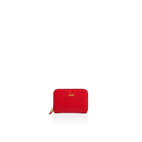 スモールレザーグッズ - Panettone Coin Purse - Christian Louboutin