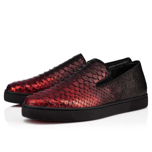 メンズシューズ - Boat Man Men's Flat - Christian Louboutin