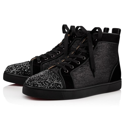 メンズシューズ - Louis P Strass Men's Flat - Christian Louboutin