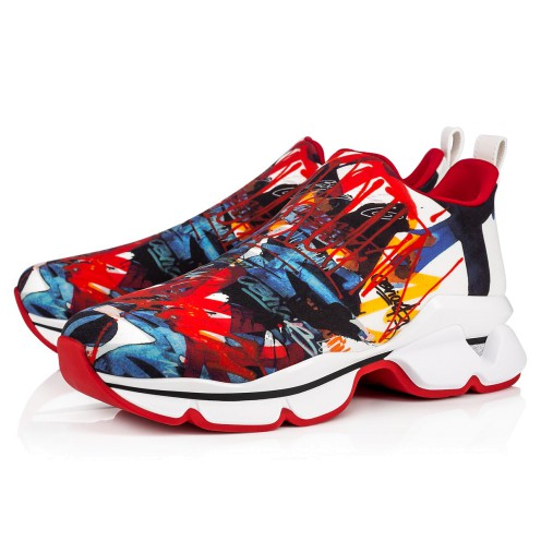メンズシューズ - Space Run Men's Flat - Christian Louboutin