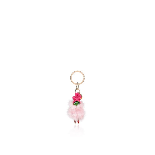 スモールレザーグッズ - Bag Charm Mini Doll - Christian Louboutin