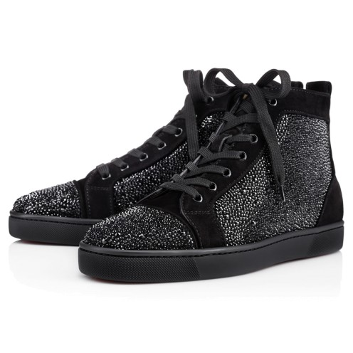メンズシューズ - Louis Strass Men's Flat - Christian Louboutin