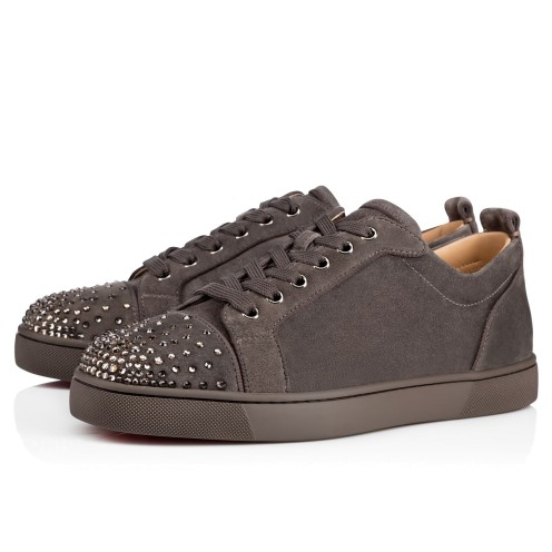 メンズシューズ - Louis Junior Degra Flat - Christian Louboutin