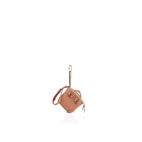 スモールレザーグッズ - Mini Eloise Bag Charm - Christian Louboutin