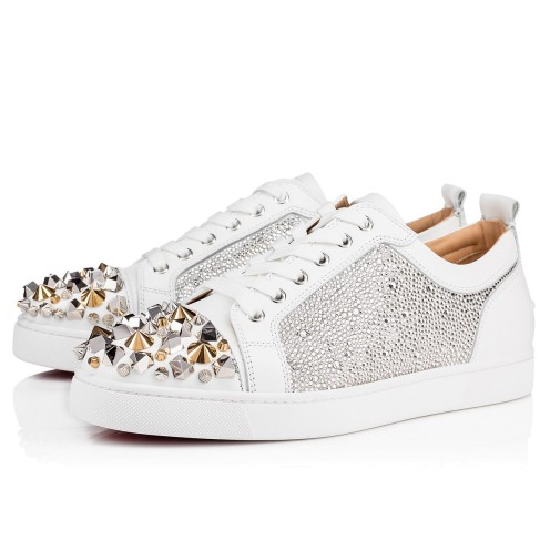 メンズシューズ - Louis Junior Mix Strass Men's Flat - Christian Louboutin