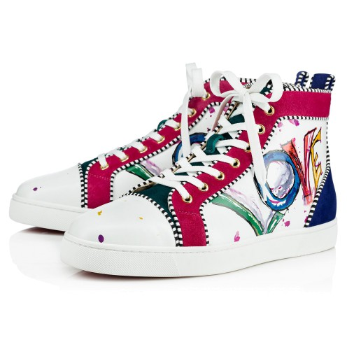 メンズシューズ - Louis Orlato Men's Flat - Christian Louboutin