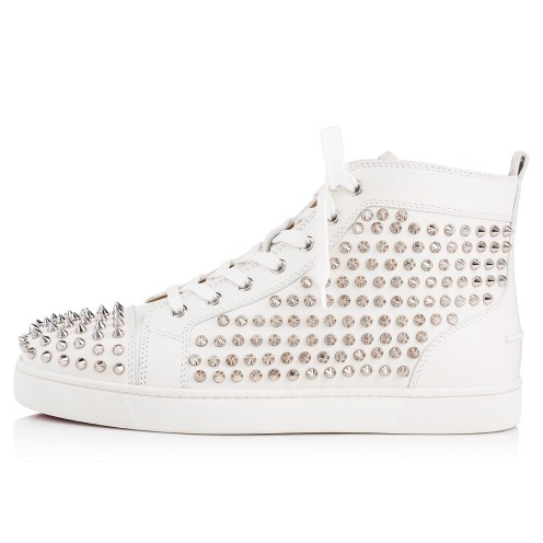 メンズシューズ - Louis Spikes Men's Flat - Christian Louboutin_2