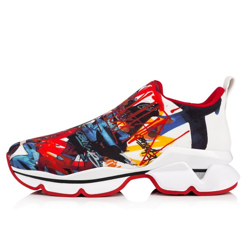 メンズシューズ - Space Run Men's Flat - Christian Louboutin_2