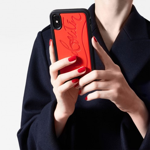 スモールレザーグッズ - Loubiphone Case Iphone X/xs - Christian Louboutin_2