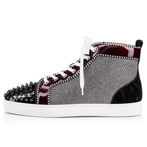 メンズシューズ - Louis Spikes Orlato Men's Flat - Christian Louboutin_2