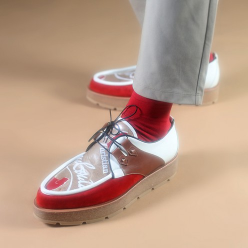 メンズシューズ - Marcello Crepe Men's Flat - Christian Louboutin_2