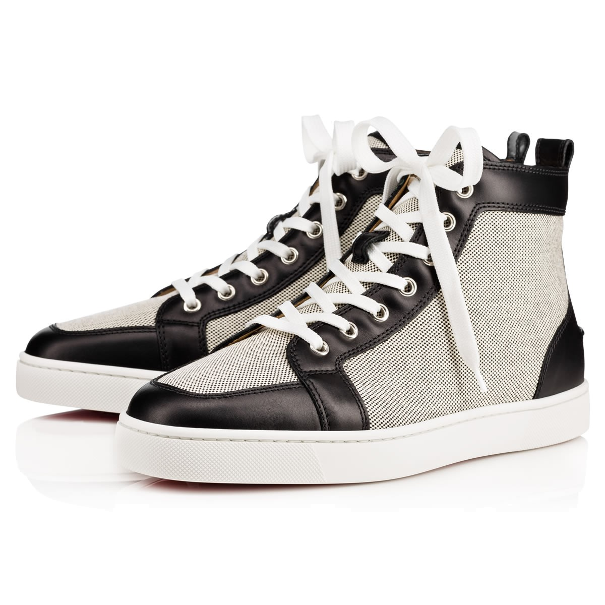 メンズシューズ - Rantus Cotton Men's Flat - Christian Louboutin