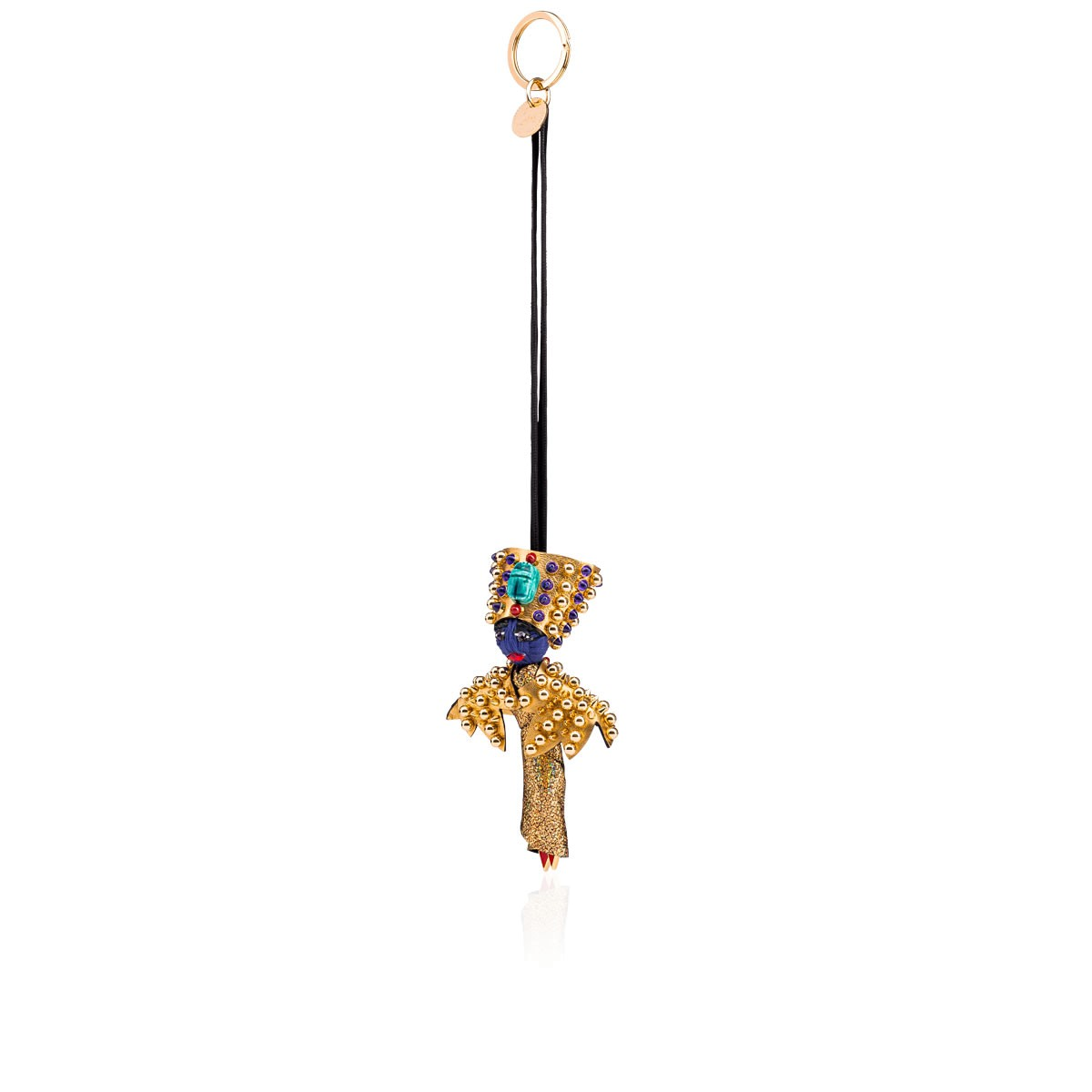 スモールレザーグッズ - Bag Charm Doll Nefertiti - Christian Louboutin