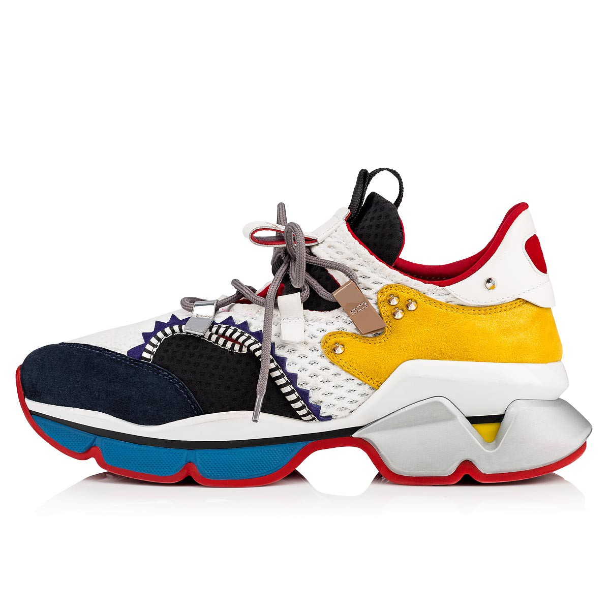 メンズシューズ - Red-runner Men's Flat - Christian Louboutin