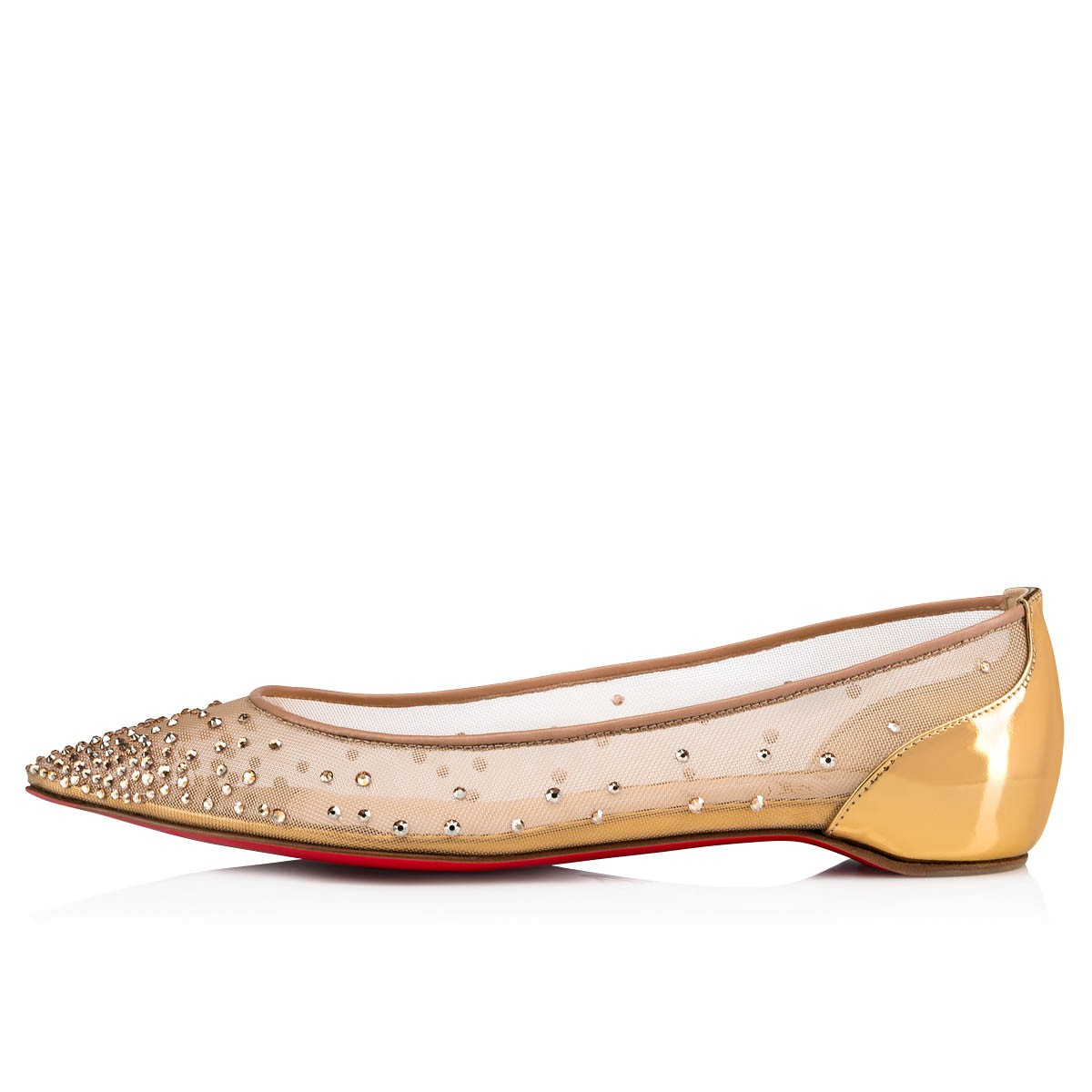 ウィメンズシューズ - Follies Strass Flat - Christian Louboutin