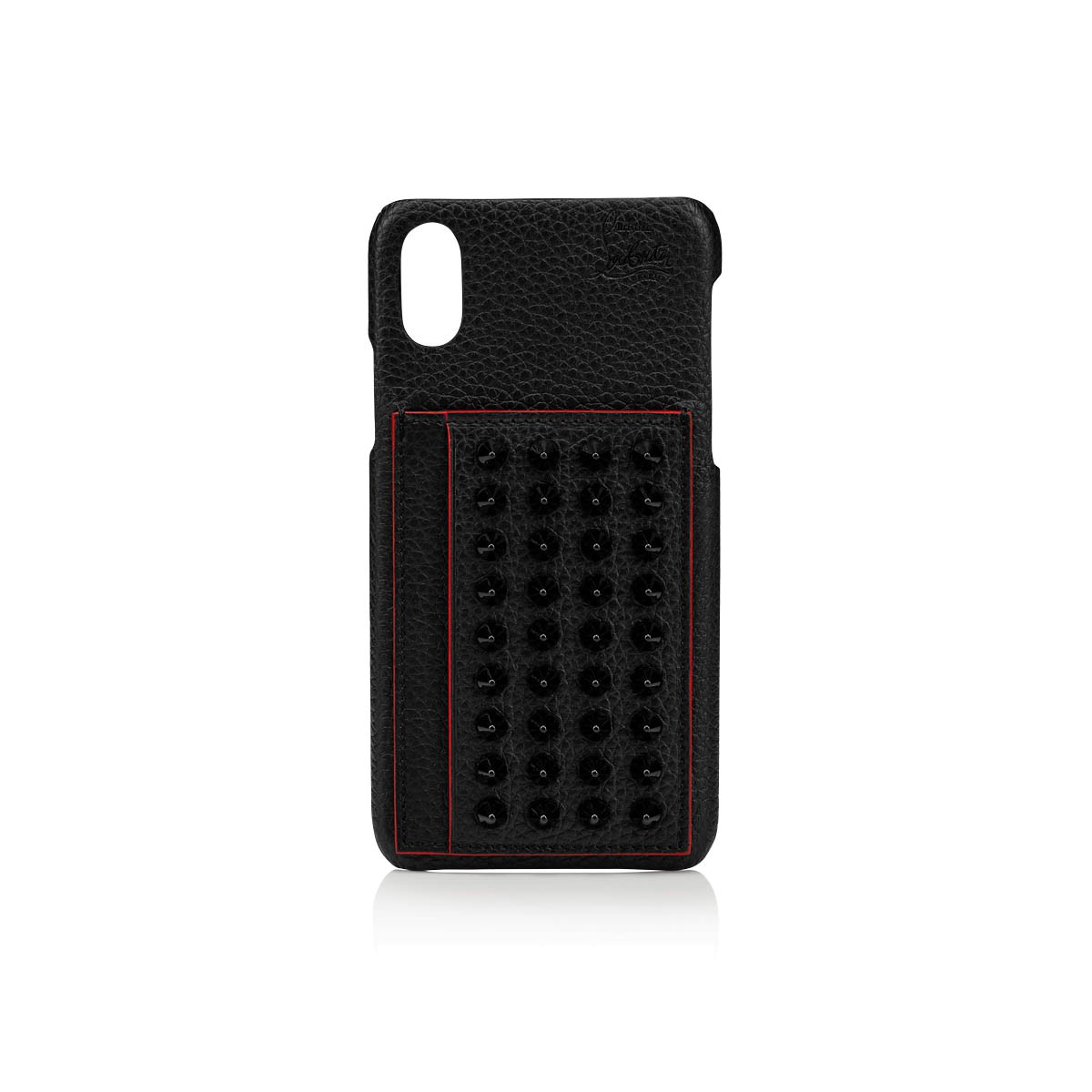 スモールレザーグッズ - Loubiphone Case Iphone X/xs - Christian Louboutin