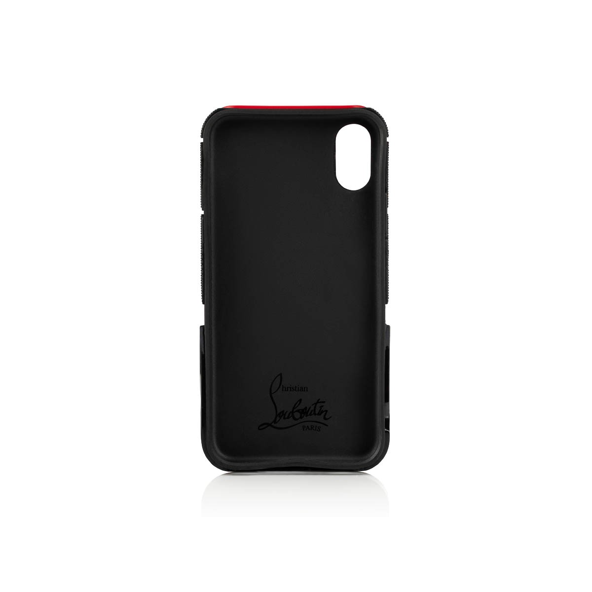 スモールレザーグッズ - Red Runner Case Iphone X/xs - Christian Louboutin